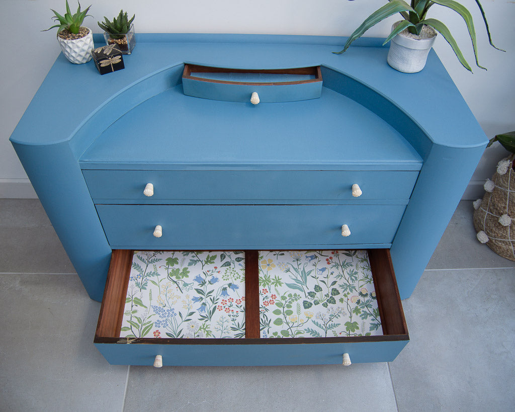Art Deco Style Chest Of Drawers Dressing Table Gruffertys
