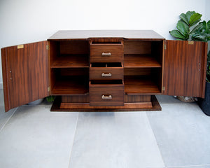 Art Deco Australian Walnut Sideboard