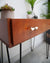 Mid Century Teak Console / Desk / Dressing Table