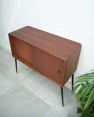Mid Century Small Cocktail Cabinet / Sideboard