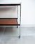 Howard Miller Teak & Chrome Cocktail Trolley / Bar