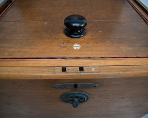 Victorian Campaign Furniture Box Refrigerator Amy & Navy CSL