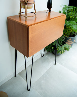 Mid Century Teak Desk / Cocktail Cabinet