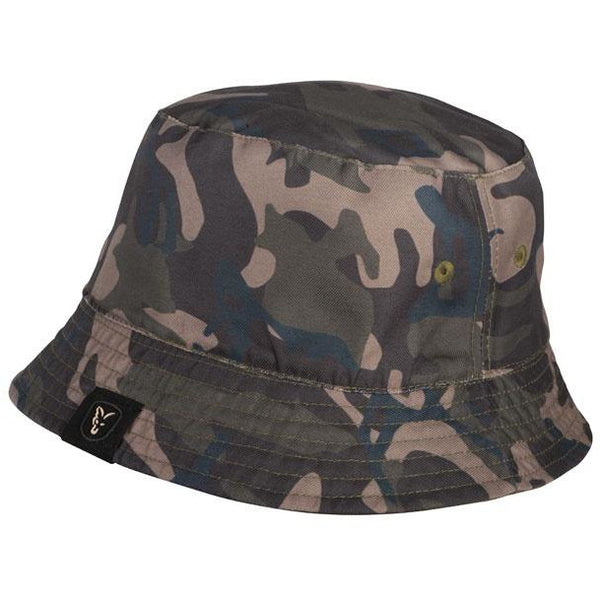 Fox Khaki/Camo Reversible Bucket Hat