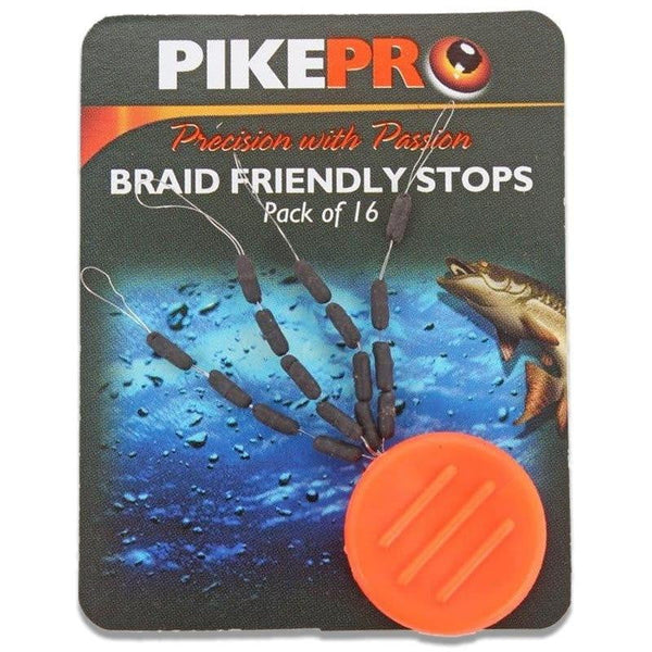 PikePro Braid Friendly Stops Pk of 16) - taskers-angling