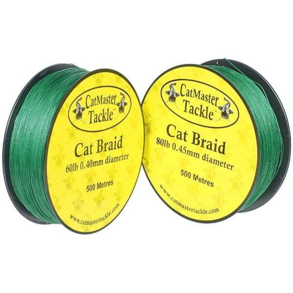 CatMaster Cat Braid 250m Green - taskers-angling
