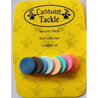 CatMaster Security Discs - taskers-angling