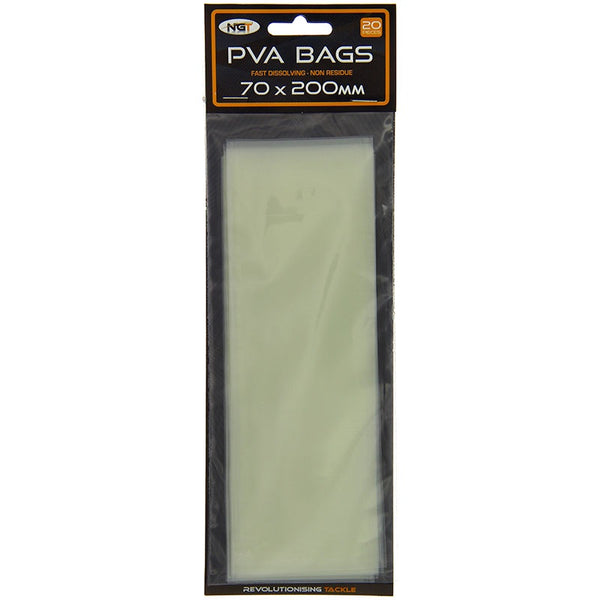 NGT PVA Bag 70x200mm (20pc)