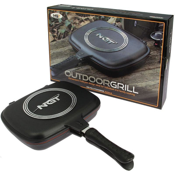 NGT Double Grill Pan Non Stick