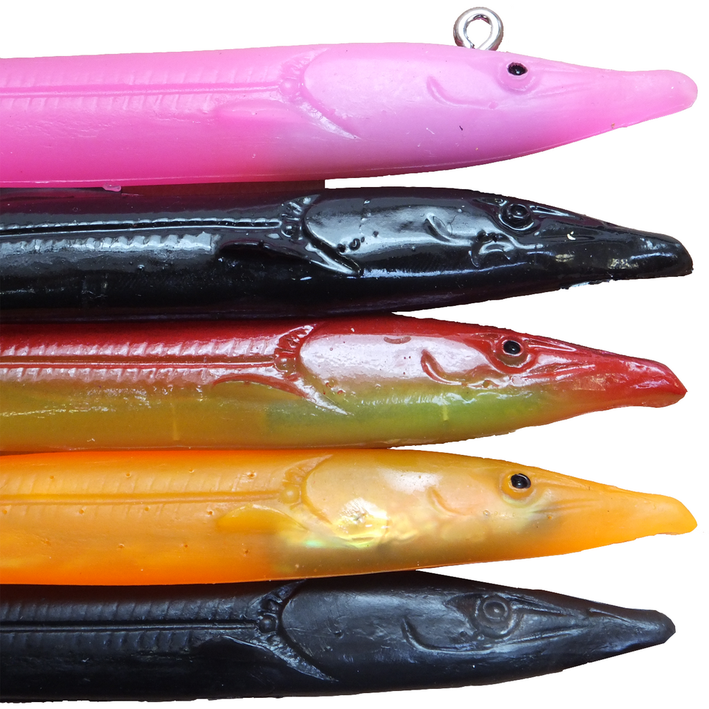 Red Gill Evolution - 178mm Sand Eel Imitation Fishing Lures - taskers-angling