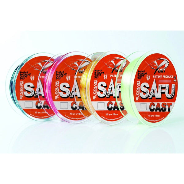 Yuki Safu Cast Tapered Leaders Clear/Red 0.30mm-0.57mm
