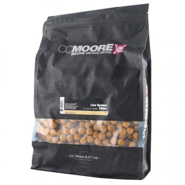 C C Moore Live System Freezer Baits 15mm 1kg - taskers-angling