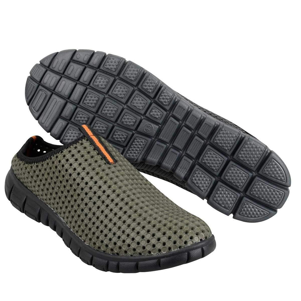 Prologic Bank Slippers Green - taskers-angling