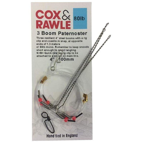 Cox & Rawle 3 Boom Paternoster - taskers-angling