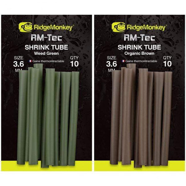 RidgeMonkey RM-Tec Shrink Tube 3.6mm - taskers-angling