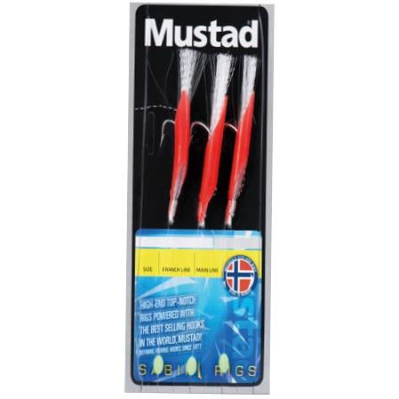 Mustad Daylight Fluo Red Rig