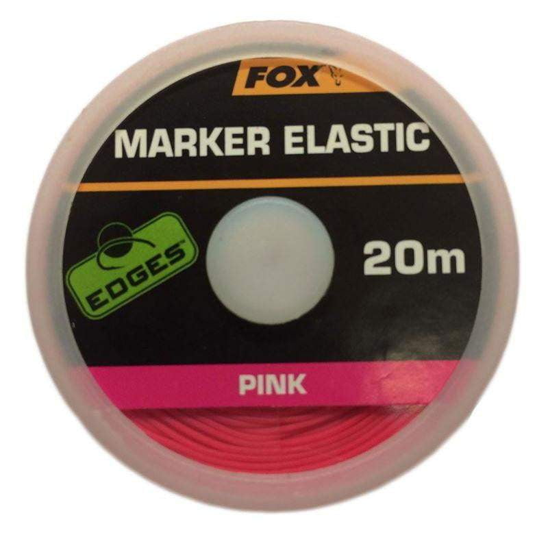 Fox Edges Marker Elastic x 20m Red - taskers-angling