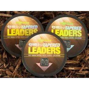 Korda Subline Tapered Leader Brown - taskers-angling