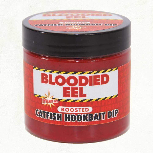 Bloodied Eel Catfish Dip 270ml - taskers-angling