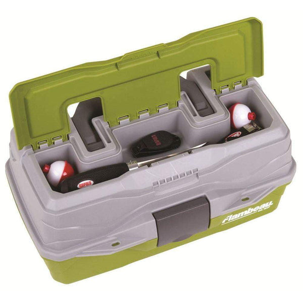 Flambeau 1-Tray Classic Box With Flip Lid - taskers-angling