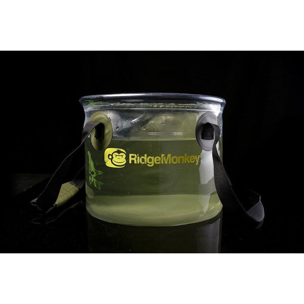 RidgeMonkey Perspective Collapsible Bucket 10L - taskers-angling