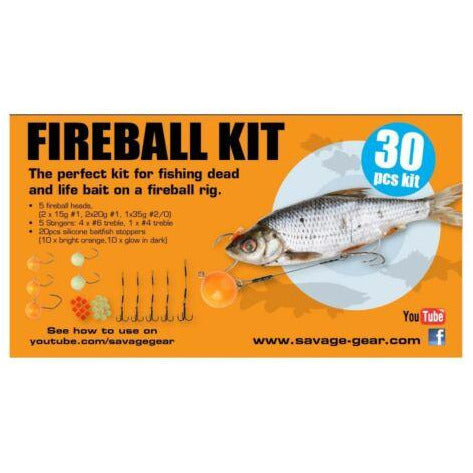 Savage Gear FIREBALL KIT 30PCE