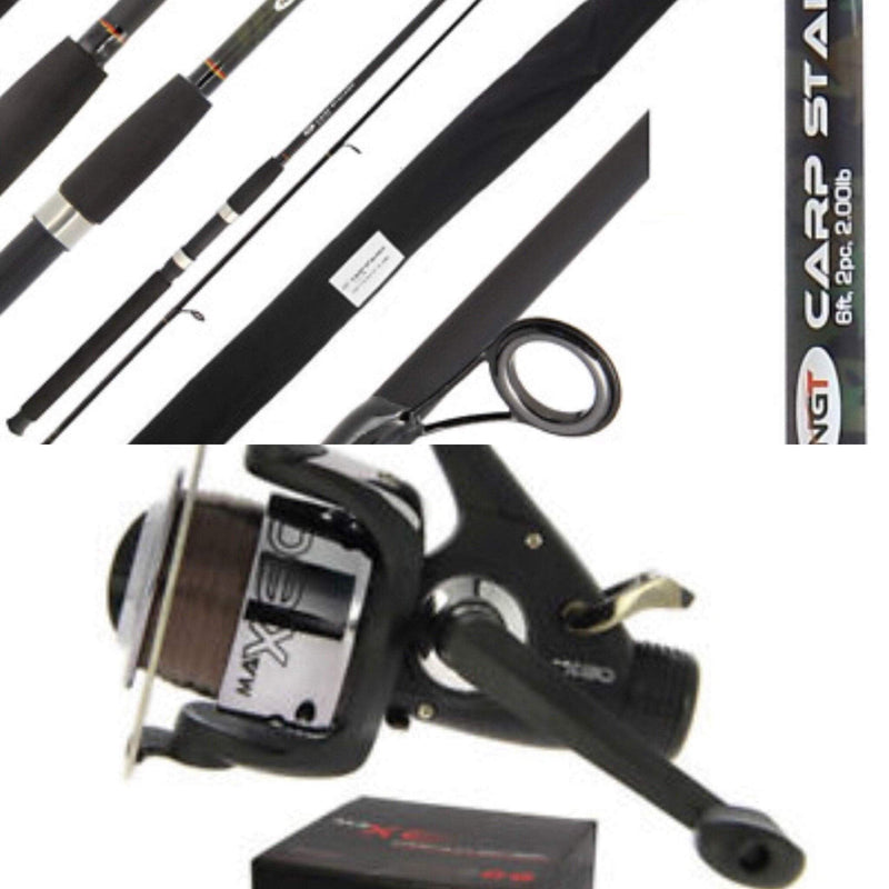 Carp Stalker Combo 8ft Camo - taskers-angling