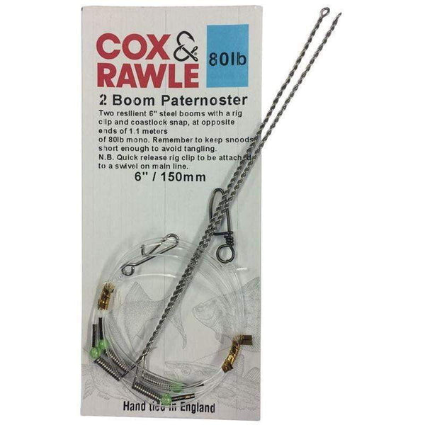 Cox & Rawle 2 Boom Paternoster - taskers-angling