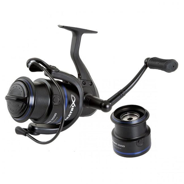 Matrix Super Feeder 5500 Reel inc spare Spool - taskers-angling