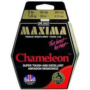 Maxima Chameleon One Shot Line 200-250m Spools - taskers-angling