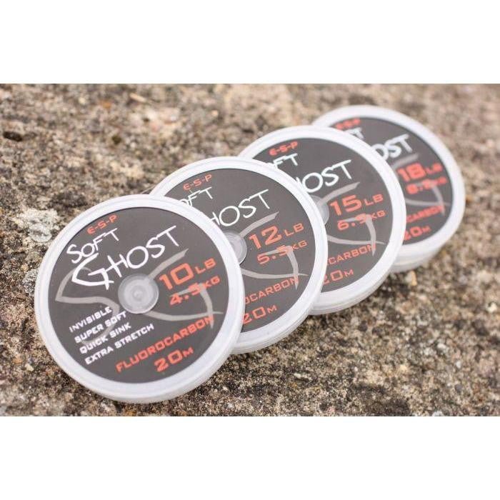 ESP Soft Ghost Fluorocarbon - taskers-angling