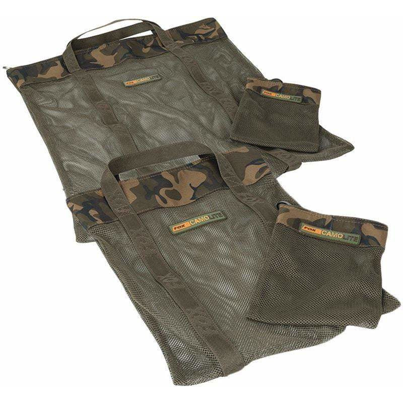 Fox Camolite Airdry Bag + Hookbait Bag - taskers-angling