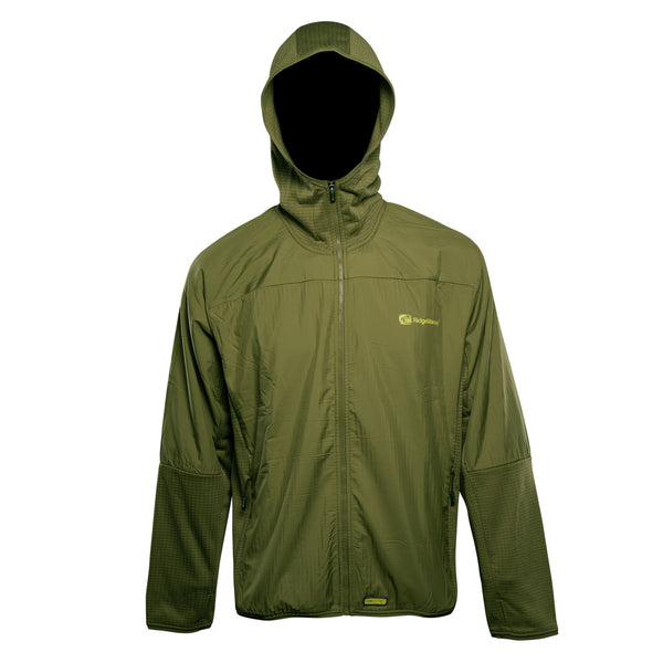 RidgeMonkey Dropback Lightweight Zip Jacket Green