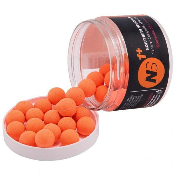 C C Moore NS1 Pop Ups + Orange 14mm Pot - taskers-angling