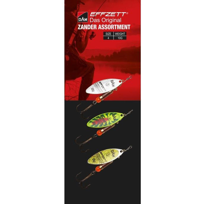 Effzett Spinner Assortment Zander