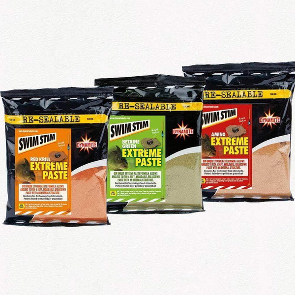 Swim Stim Extreme Paste - Red Krill 350g - taskers-angling