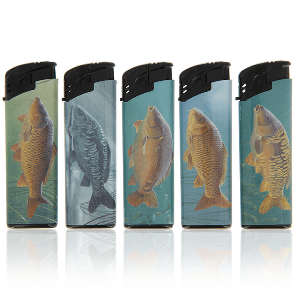 NGT Electronic Refillable Carp Fish Lighters Single - taskers-angling