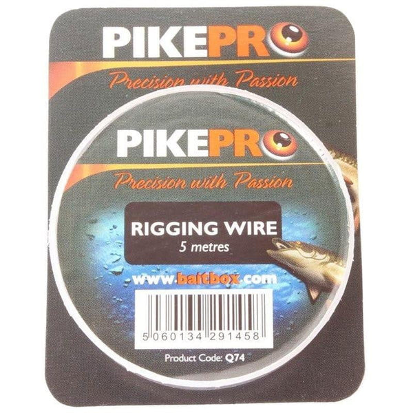 PikePro Rigging Wire 5m - taskers-angling