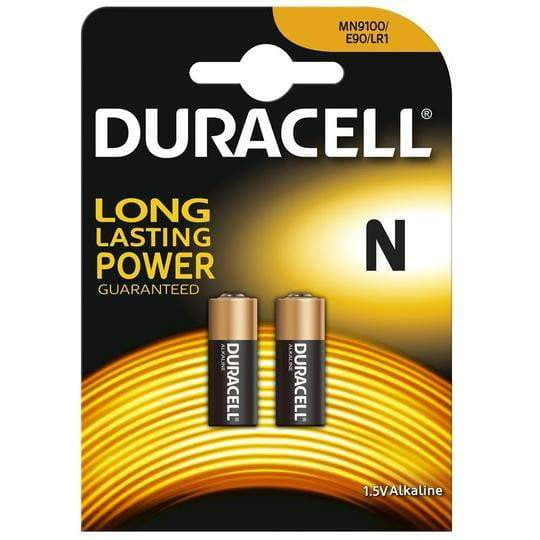 Duracell MN9100 1.5v(2 pack) - taskers-angling