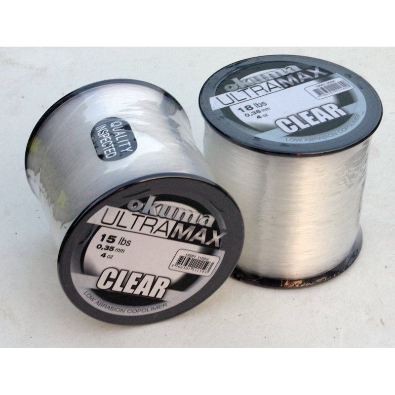Okuma Ultramax Mono Clear 4oz Spool