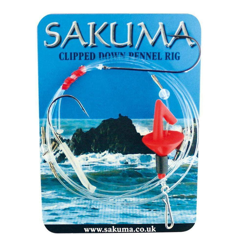 Sakuma Clipped Down Pennel Rig - taskers-angling