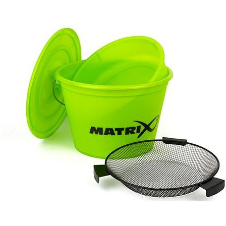Matrix Lime Bucket Set inc tray and riddle