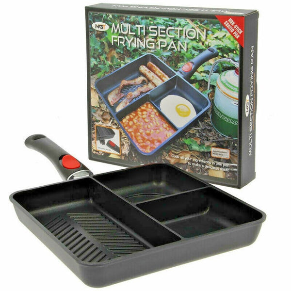 NGT 3 Way Multi Section Frying Pan