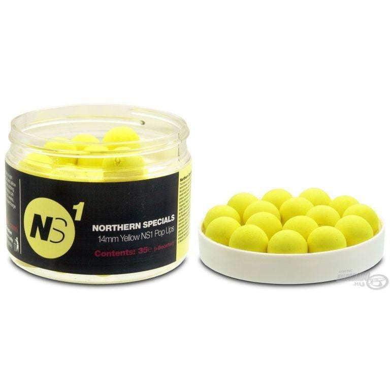 C C Moore NS1 Pop Ups + Yellow 14mm Pot - taskers-angling
