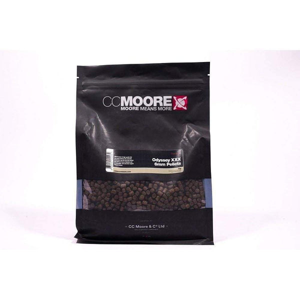 C C Moore Odyssey XXX Pellets 1kg: 6mm - taskers-angling