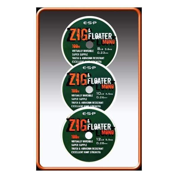 ESP Zig & Floater Mono 100m - taskers-angling