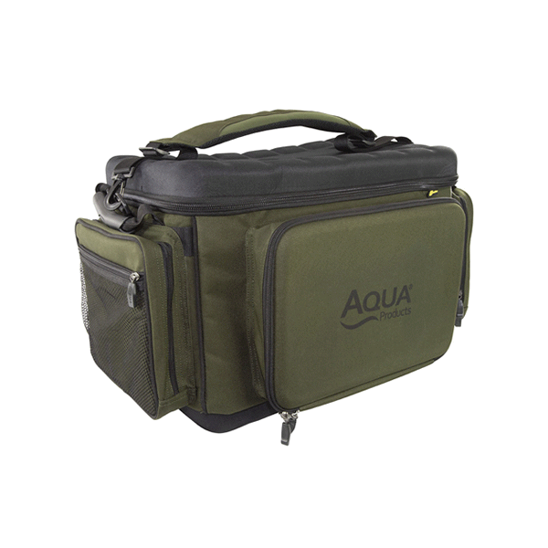 Aqua Front Barrow Bag Black Series