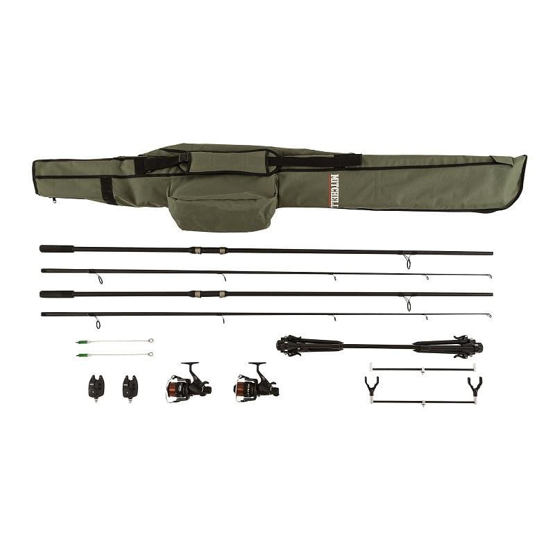 Mitchell Combo GT Pro Complete Carp Set - taskers-angling