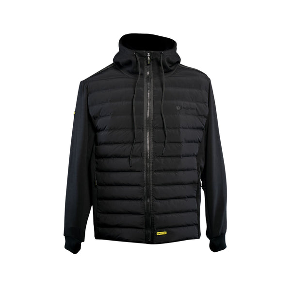 RidgeMonkey Dropback Heavyweight Zip Jacket Black
