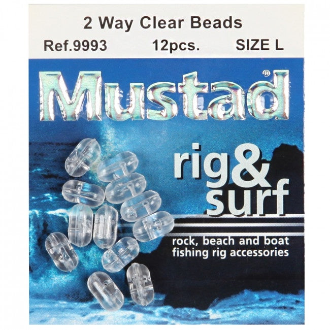MUSTAD CLEAR BEADS 2WAY